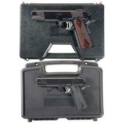Two Kimber 1911 Pistols
