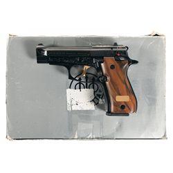 Engraved Beretta Model 84F Semi-Automatic Pistol with Case
