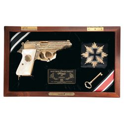 Cased American Historical Foundation Walther PP Iron Cross Limited Edition Pistol