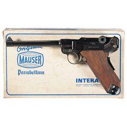 Mauser Interarms American Eagle Luger Semi-Automatic Pistol with Box