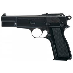 Belgian Browning High Power T-Series Semi-Automatic Pistol