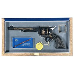 Cased Colt Custom Shop Single Action Army Special Edition Revolver with Box