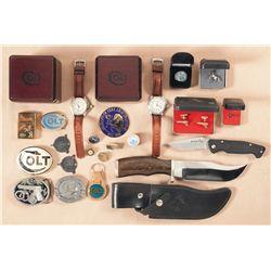 Collection of Colt Memorabilia