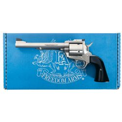 """Freedom Arms """"Premier Grade"""" Model 83 Single Action Revolver in 500 Wyoming Express with Box and Pap"""