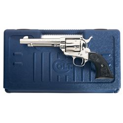Colt Fourth Generation Single Action Army Revolver with Case