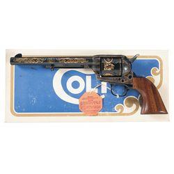 Sam Colt Commemorative Single Action Army Revolver with Original Box