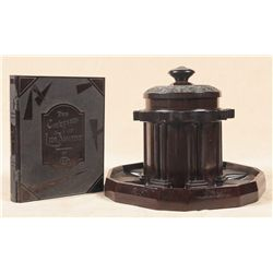 One Colt Pipe Humidor and a Scarce Colt Tobacco Book