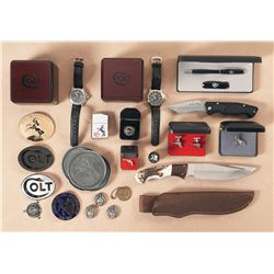 Assorted Colt Memorabilia