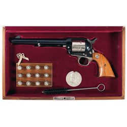 Cased Colonel Samuel Colt Sesquicentennial Single Action Army Revolver