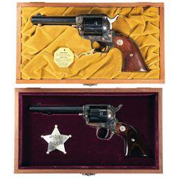 Two Cased Colt Commemorative Revolvers