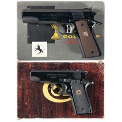 Two Boxed Colt Semi-Automatic Pistols