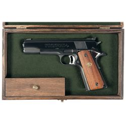 Cased Colt Mark IV Series 70 Gold Cup National Match Semi-Automatic Pistol