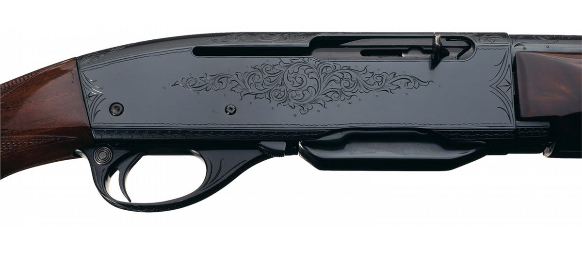 Documented Runge Engraved Remington Model 742D Peerless Semi-Automatic Rifle