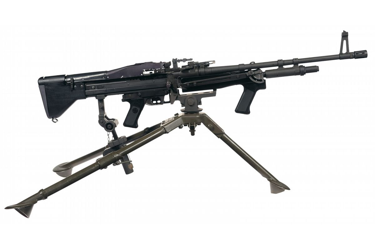 M60 For Sale >> Complete Springfield Armory Sa 1 M60 Style Semi Automatic Rifle Rig That Includes An M60e3 Navy S