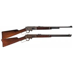 Collector's Lot of Two Marlin Lever Action Carbines