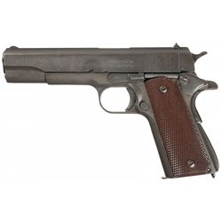 Excellent WWII U.S. Remington-Rand Model 1911A1 Semi-Automatic Pistol