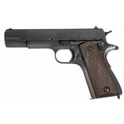 WWII U.S.Colt Model 1911A1 Semi-Automatic Pistol with Ordnance Bill of Sale and Accessories