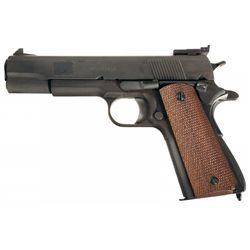 U.S. Ithaca Model 1911A1 National Match Semi-Automatic Pistol with Box