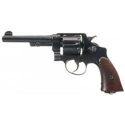 Excellent WWI U.S. Smith & Wesson Model 1917 Double Action Revolver with British Proofs and Factory