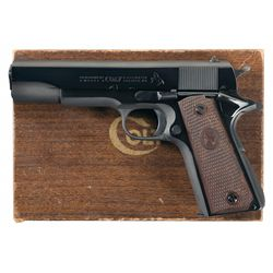 """Scarce Colt 1911A1 """"BB"""" Marked Government Model Semi-Automatic Pistol with Box"""