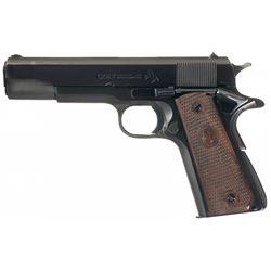 Colt Super 38 Government Model Semi-Automatic Pistol with 45 ACP Conversion Parts