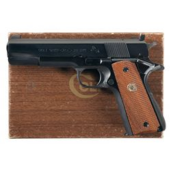Colt Service Model Ace Semi-Automatic Pistol with Box and .22 Conversion Kit