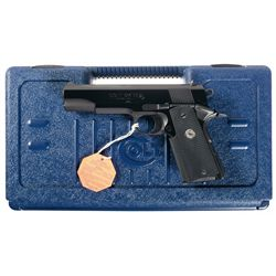 Colt MK IV Series 80 Government Model 1911 Semi-Automatic Pistol in 9x23 with Case