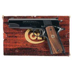 Colt MK IV Series 70 Government Model Semi-Automatic Pistol with Box
