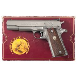 Colt MK IV Series 80 Gold Cup National Match Semi-Automatic Pistol with Box