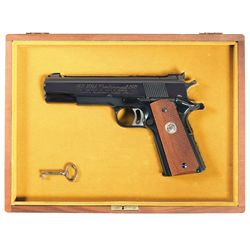 Cased Colt Gold Cup National Match NRA Centennial 1911 Semi-Automatic Pistol
