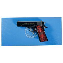 Cased Colt Royal Combat Commander Semi-Automatic Pistol with Box