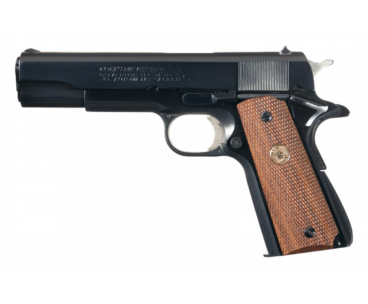 49ba730a4615 Image 1   Colt MK IV Series 70 Government Model 1911 Semi-Automatic Pistol  with ...