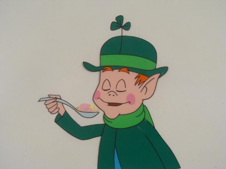 Lucky Charms Original 1960s Commercial Production Cel