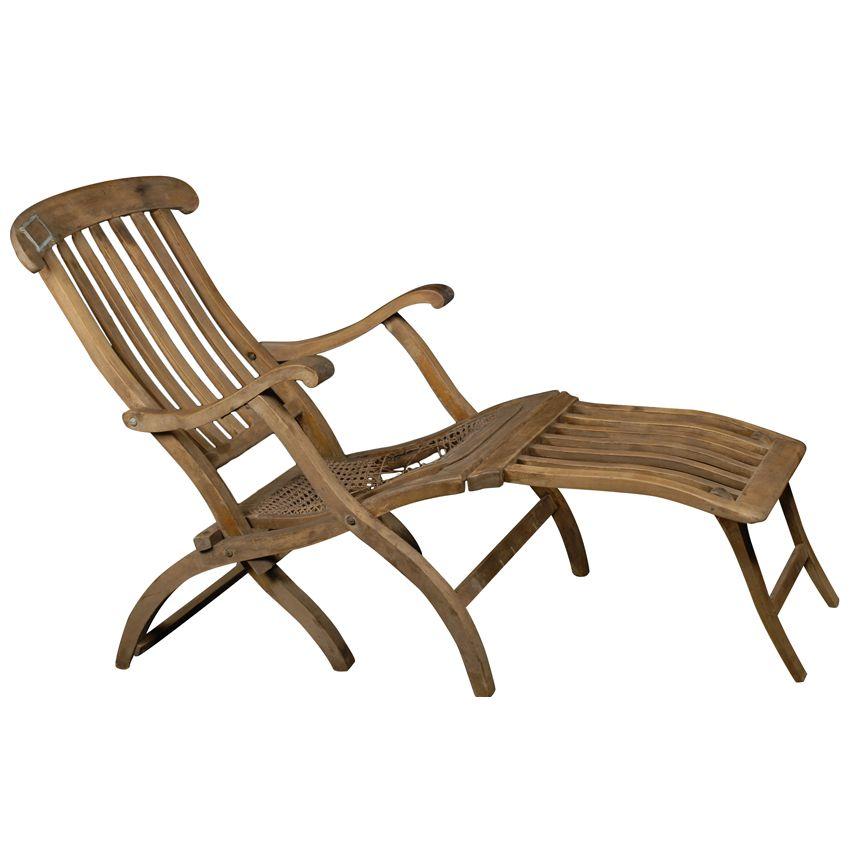 Image 1  Titanic Deck Chair ...  sc 1 st  iCollector.com & Titanic Deck Chair