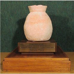 Egyptian Vessel, Terra Cotta Artifact Middle Bronze