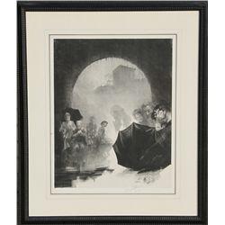 Henri Patrice Dillon, Memories, Lithograph