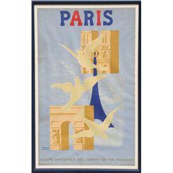 Paul Colin, Paris, Lithograph Poster