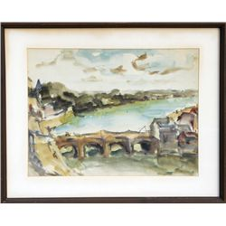 Willy Rieser, Watercolor