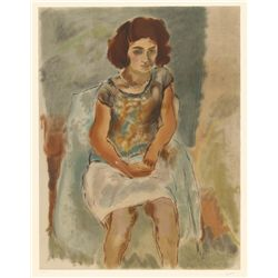 Jules Pascin, Nana, Lithograph