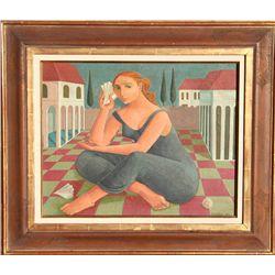 Bernique (Bernice) Mae Wilderson Longley, Painting