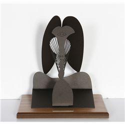 Pablo Picasso, The Lady, Cor-ten Steel Sculpture