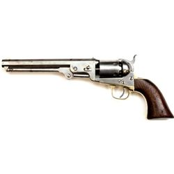 "Colt 1851 .36 cal. SN 170775 revolver with 7 1/2"" barrel. All metal surfaces show clean overall fini"