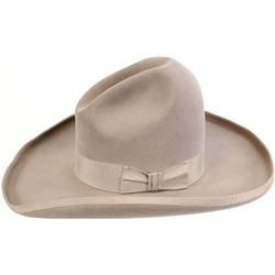 Fine vintage Stetson hat marked on sweatband with original silk liner intact.