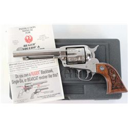 Ruger Vaquero .45 cal. SN 58-51325 single action revolver with 5 1/2  barrel, stainless finish with
