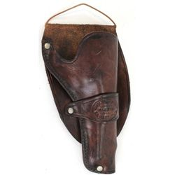 "Shelton Payne El Paso Texas holster single loop for Colt SA 4 3/4"" remaining in very good condition,"