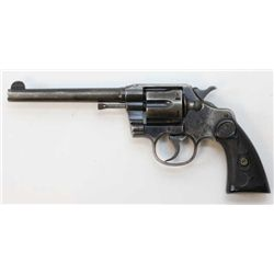 """Colt Army Special .38 cal. SN 427025 double action revolver with 5 3/4"""" barrel, blued finish and Col"""