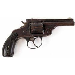 "Marlin Model 1887 .38 cal. SN 6185 double action top break revolver, 3 1/4"" barrel, blued finish wit"