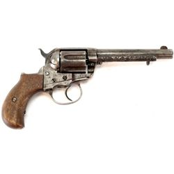 "Colt Thunderer .41 cal. SN 67652 double action revolver with 5"" barrel. Non functioning action, home"