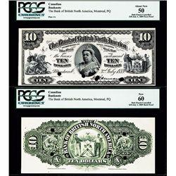 Bank of British North America Proof Banknote.