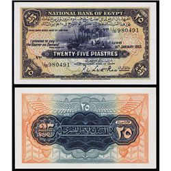 National Bank of Egypt, 1950 Issue Banknote.